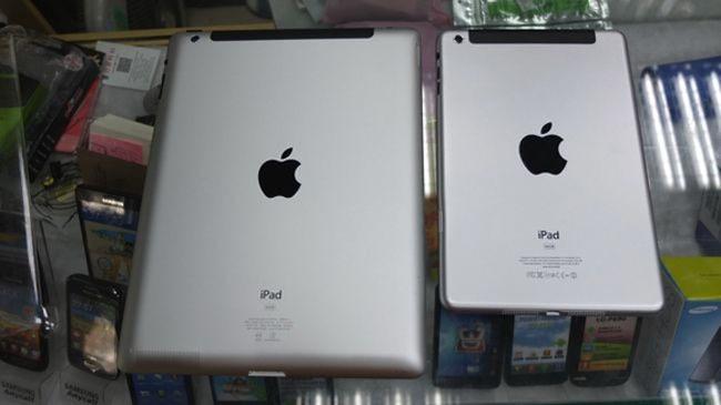 Montaje con el hipotético iPad mini