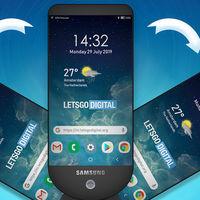 Samsung patenta una pantalla para móviles que despliega más paneles como si fueran un abanico