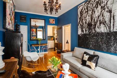 Airbnb Classic Blue Refugio Artistico Al Lado De Central Park En Manhattan