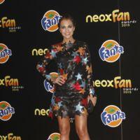 Sí rotundo a la trenza de Paula Echevarría en los Premios Neox Fan 2015