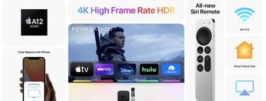 El nuevo Apple TV al detalle: nuevo Apple TV Remote a la venta, retrocompatibilidad, Wi-Fi 6 y HDMI 2.1, Apple Care+ y más