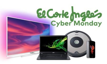 Las mejores ofertas del Cyber Monday 2019 en El Corte Inglés: aspiradores Roomba, móviles Xiaomi y portátiles Apple más baratos