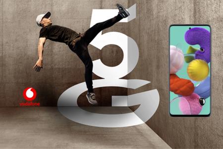 Precios Samsung Galaxy A51 5G con tarifas Vodafone, desde 288 euros