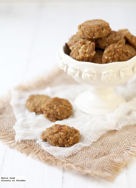 Galletas De Avena Y Manzana Sin Huevo Azúcar Y Lácteos Receta