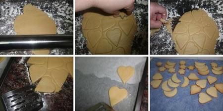 Preparación de las galletas decoradas