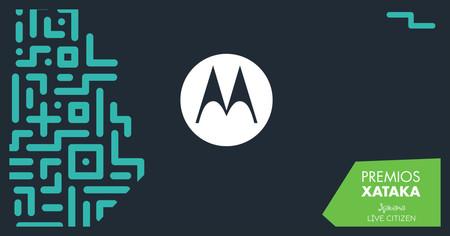 Motorola nos trae sus últimos lanzamientos a los Premios Xataka