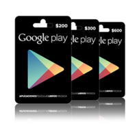 Las tarjetas regalo de Google Play ya disponibles en México