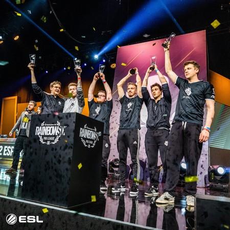 G2 Esports y el español Goga conquistan la Pro League 2018 de Rainbow Six en Brasil