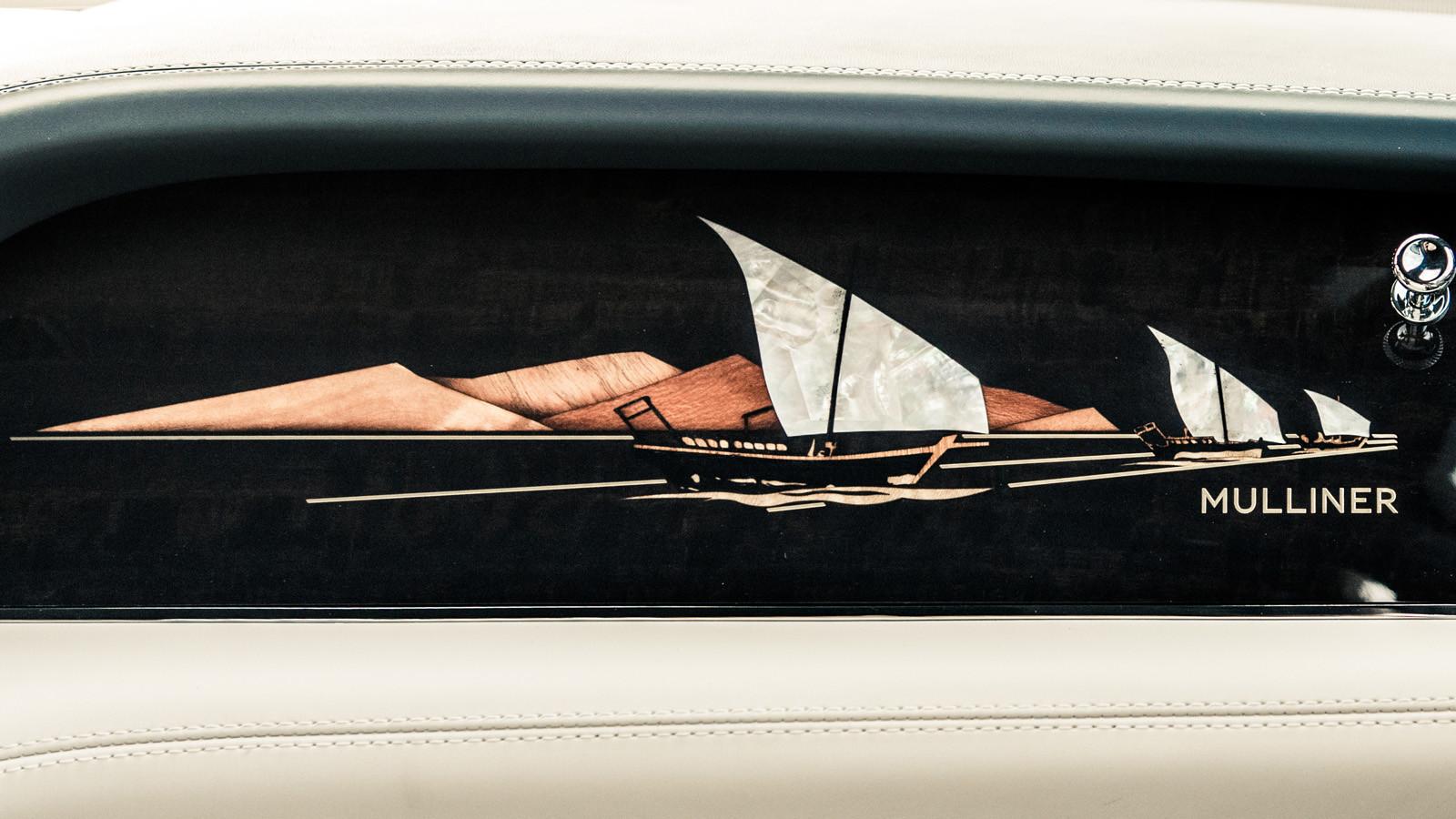 Foto de Bentley Bentayga Mulliner Pearl of the Gulf (9/10)
