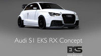 Audi S1 EKS RX Concept, listo para rallycross