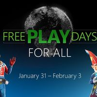 Vuelven los Free Play Days For All: juego online para todos del 31 de enero al 3 de febrero en Xbox