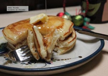 Miel De Maiz En Hotcakes