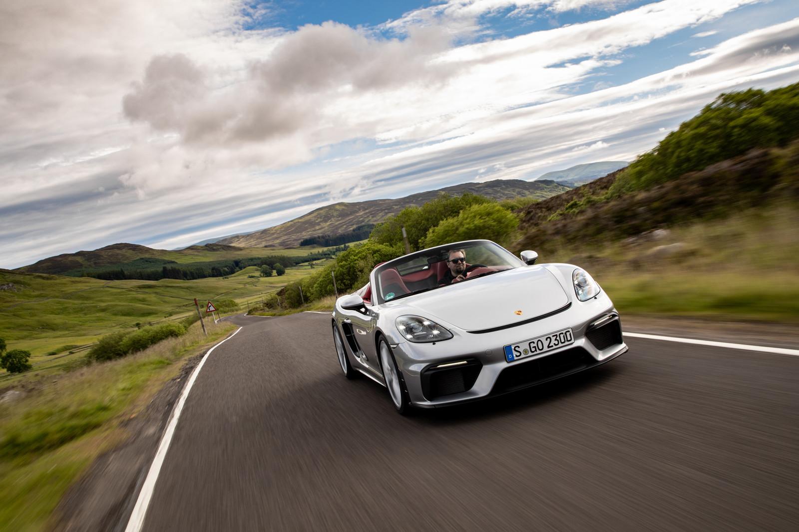 Foto de Porsche 718 Spyder (prueba contacto) (141/296)
