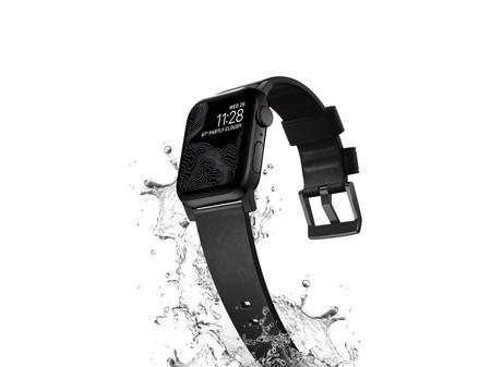 La nueva correa para Apple Watch de NOMAD es de cuero y también resistente al agua y al sudor