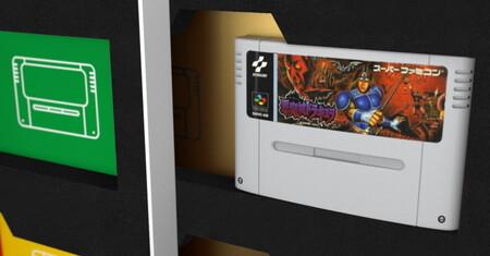 Organizar tus cartuchos de SNES como si fuesen libros es lo que propone Book4Games para tu catálogo de Super Nintendo. Y es maravilloso