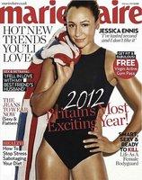 La atleta Jessica Ennis es portada de Marie Claire UK