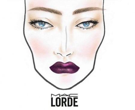 La cantante Lorde también lanzará su colección de maquillaje con MAC