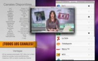 TV España TDT, aplicación para OS X que permite ver la televisión por internet