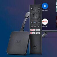 Motorola 4K Android TV Stick, nuevo reproductor multimedia en colaboración con Flipkart India