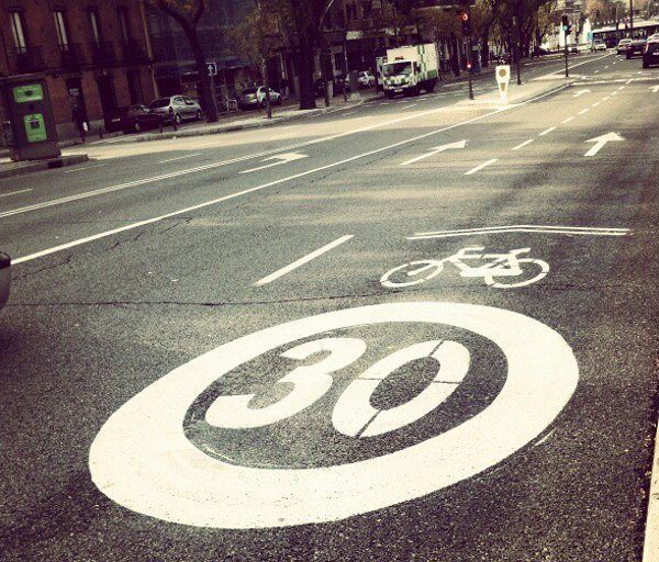Ciclocarril en Madrid (Foto de Ososxe)