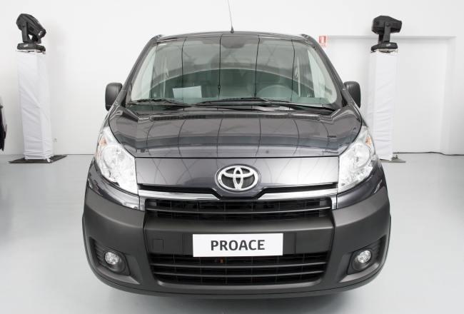 Frontal Nueva Toyota ProAce