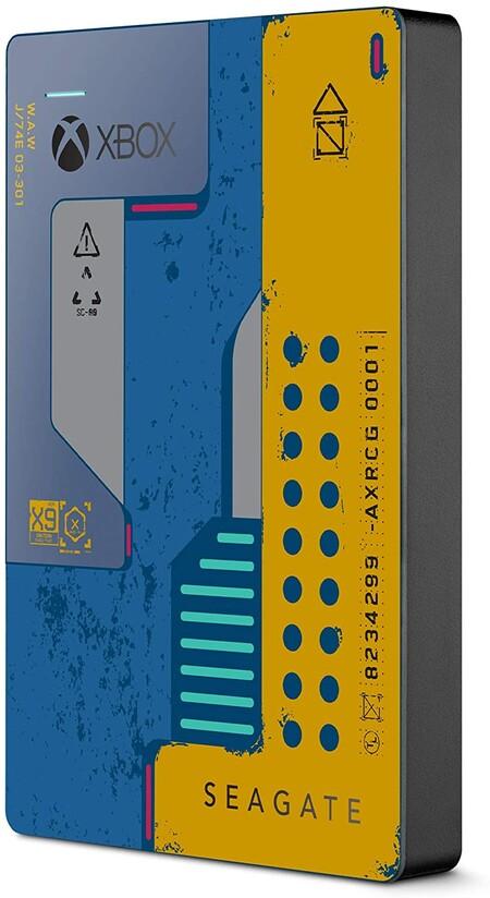 Disco duro Seagate 2TB para Xbox One edición especial de Cyberpunk2077