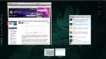 Selecciona las ventanas de Exposé con el teclado en Snow Leopard