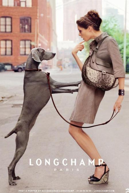 Coco Rocha para Longchamp Primavera-Verano 2010