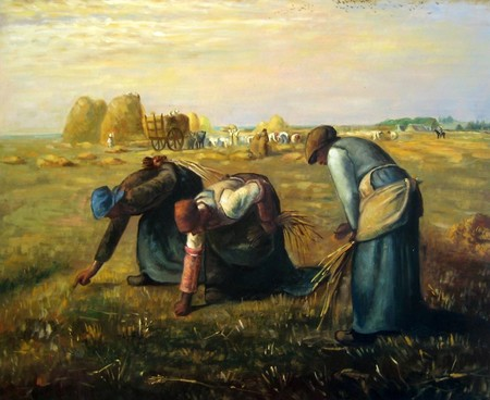 Las Espigadoras De Millet