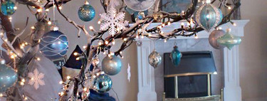 Si este puente tienes pensado poner el árbol de Navidad deja que estas 21 originales ideas te inspiren