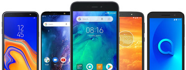 Redmi-Go comparison: we are faced with the new entry level smartphone from Xiaomi with the rest of Android phones Go