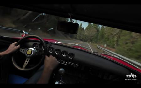 Este vídeo de un Ferrari 250 GTO en carretera de montaña es justo con lo que querías empezar el día