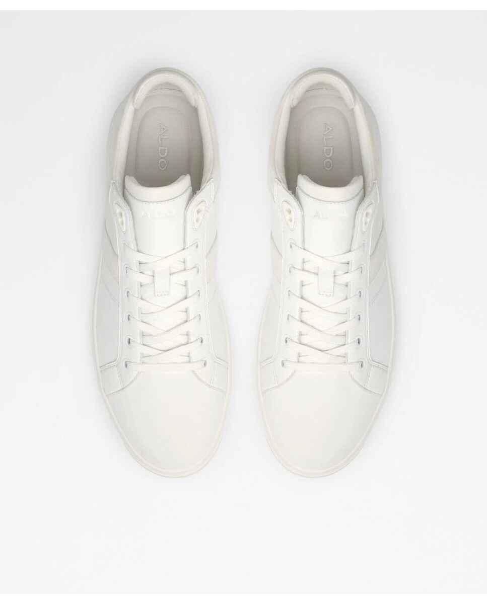 Zapatillas deportivas de hombre Aldo de color blanco con punta redonda