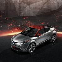 El Toyota CH-R Hy-Power Concept y sus llamas quieren poner fin a los híbridos color mariposa