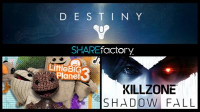 Sony lanza temas de Destiny, PES 15, Killzone y más para SHAREfactory