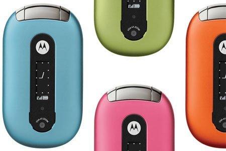 Motorola PEBL en más colores