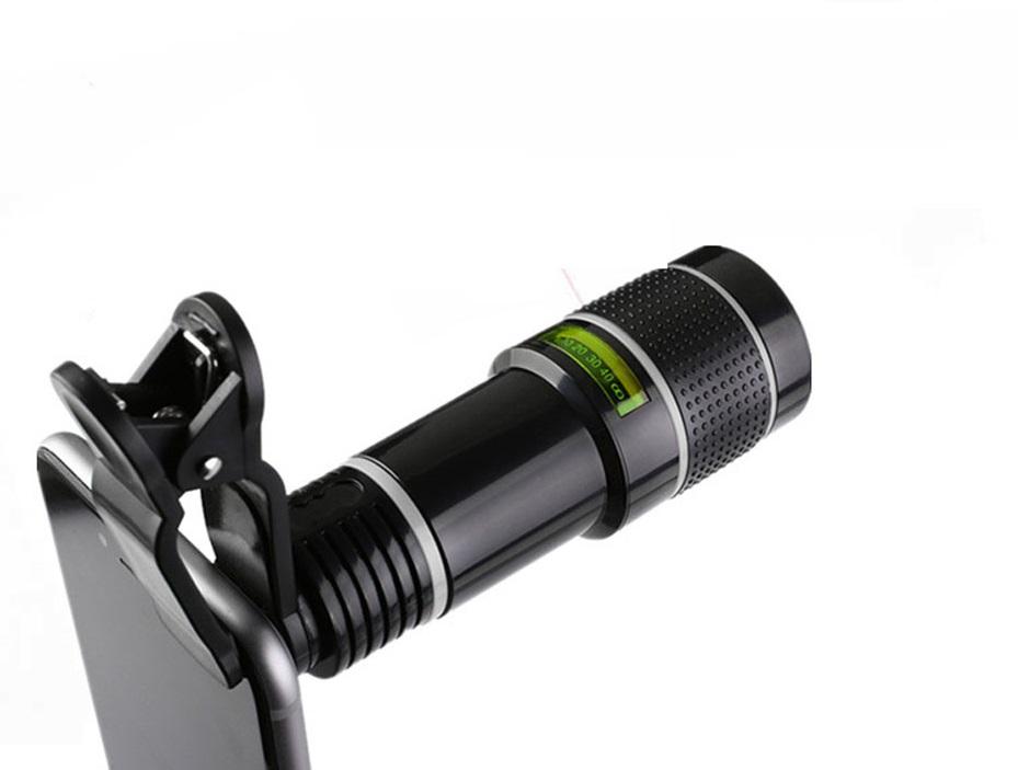 Lente universal 20X Zoom Elephoto