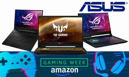 Gaming Week en Amazon: estos 11 portátiles ASUS TUF, Strix y Zephyrus te ofrecen potencia de sobra para tus juegos y están rebajados a los mejores precios