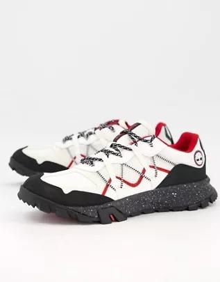 Zapatillas de deporte gris variado de caña baja Garrison Trail de Timberland
