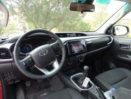 Prueba Toyota Hilux Interior