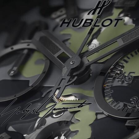 Hublot Y Yohji Yamamoto Presentan Relojes Que Seran La Sensacion Para Los Fanaticos Del Camuflaje