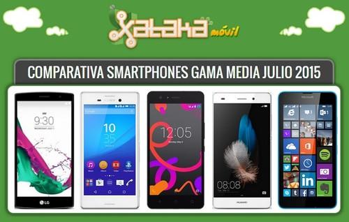 ¿Qué smartphone de gama media comprar? Comparamos los modelos de última generación