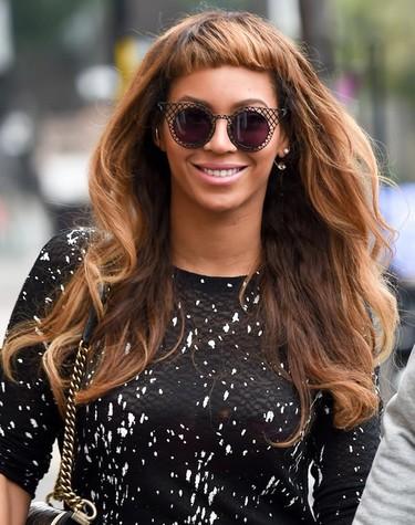Esos flequillos que hacen que hasta Beyoncé esté fea