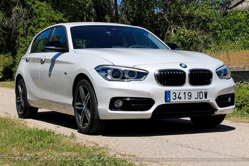BMW Serie 1 2015, hemos conducido el nuevo motor tricilíndrico de gasolina