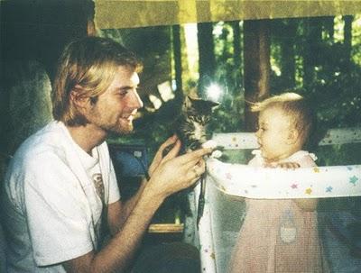 Kurt Cobain e hija