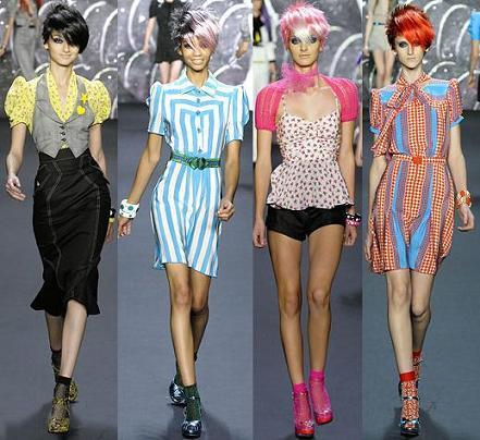 Anna Sui en la Semana de la Moda de Nueva York Primavera/Verano 2008