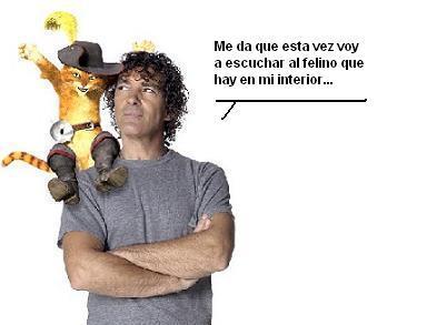 Antonio Banderas ronrronea en México