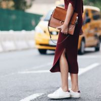 Los vestidos de canalé son la next big thing del otoño, ¡toma nota!