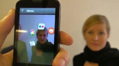 Recognizr, realidad aumentada y reconocimiento facial en uno