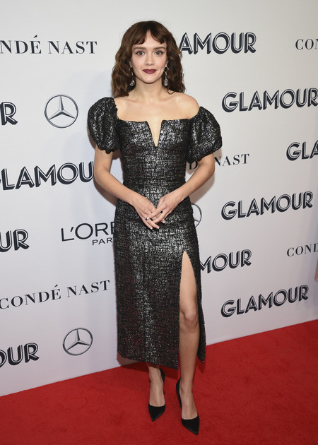 Olivia Cooke red carpet glamour women